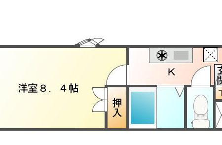 パークサイド高蔵寺 201号室 春日井市高蔵寺町北 間取り(間取)