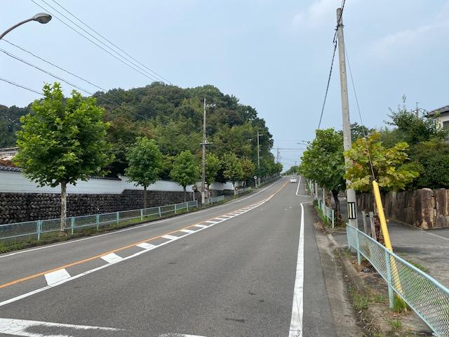 円福寺から藤山台方面