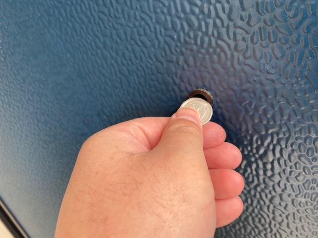 メゾンドマリオのドアスコープを交換してきました