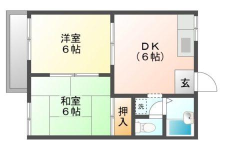 コートビレッジ藤山台 103号室 春日井市藤山台 間取り(間取)