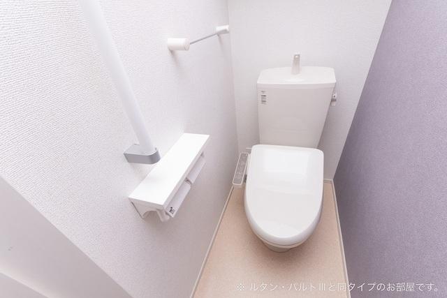 グランデ スクエア 103号室 春日井市出川町 1LDK トイレ