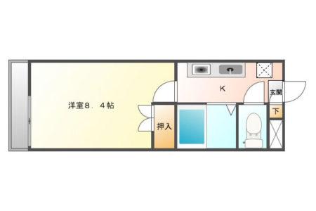 パークサイド高蔵寺 105号室 春日井市高蔵寺町北 間取り(間取)